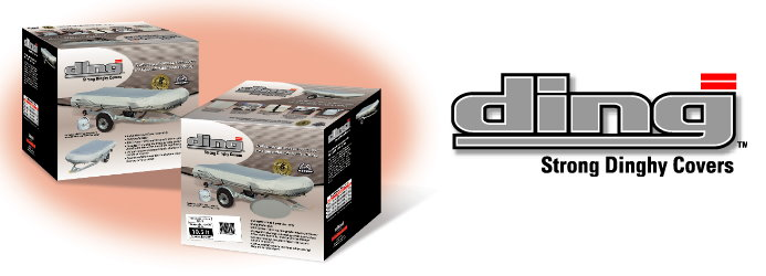 DING inflatable boat covers packaging